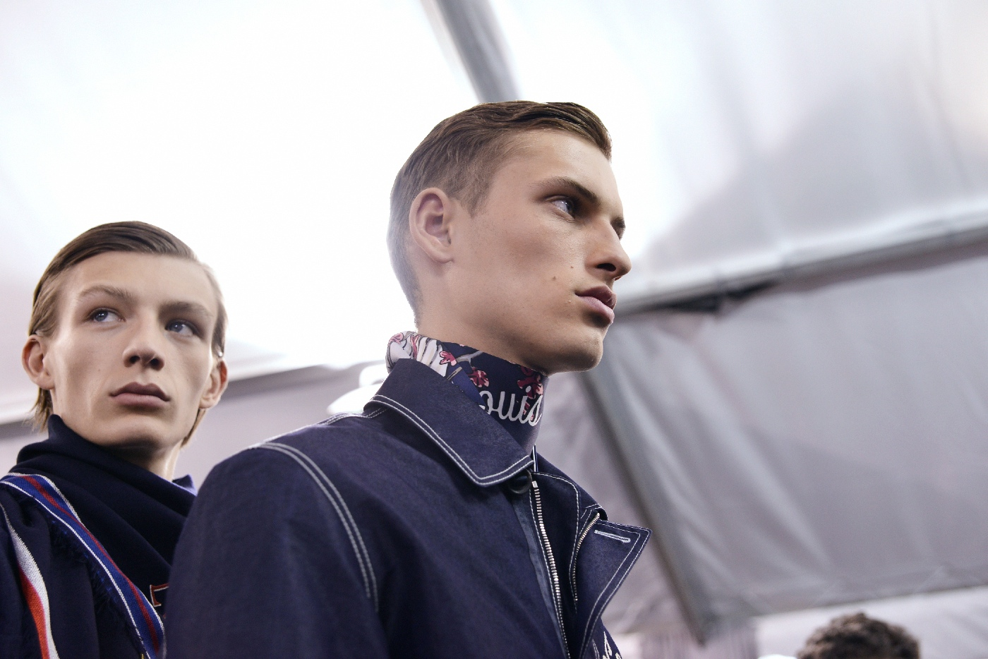 Backstage at the Louis Vuitton Menswear Spring Summer 2016 Show 14