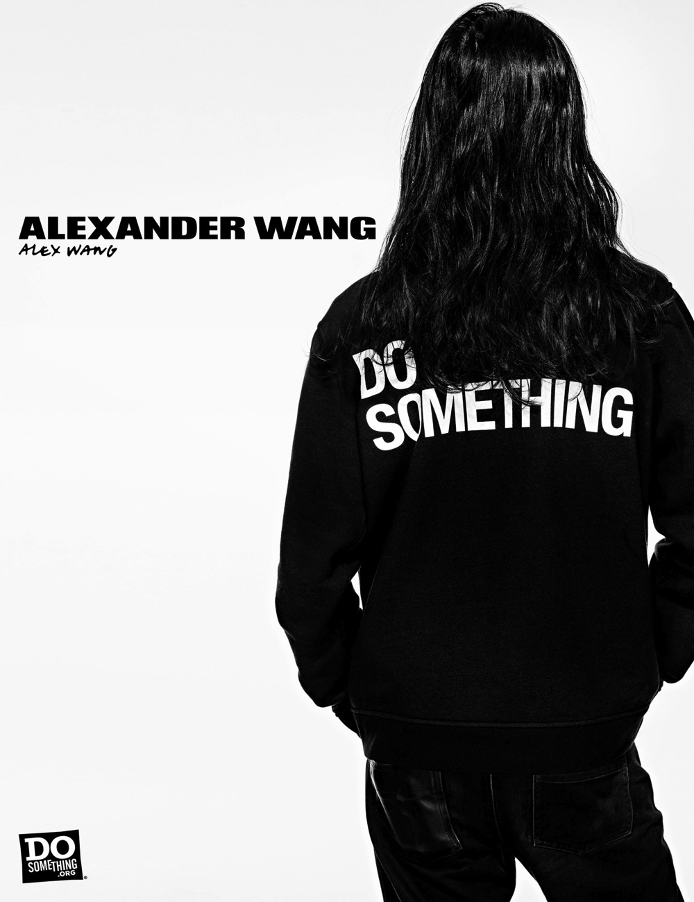 Alex Wang wears Alexander Wang x DoSomething