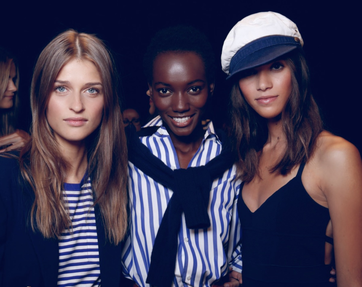 Backstage at the Ralph Lauren Spring 2016 Show 1
