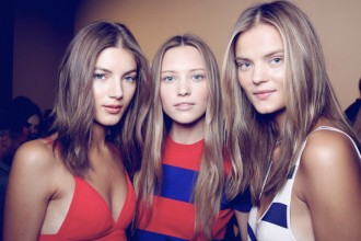 Backstage at the Ralph Lauren Spring 2016 Show 7