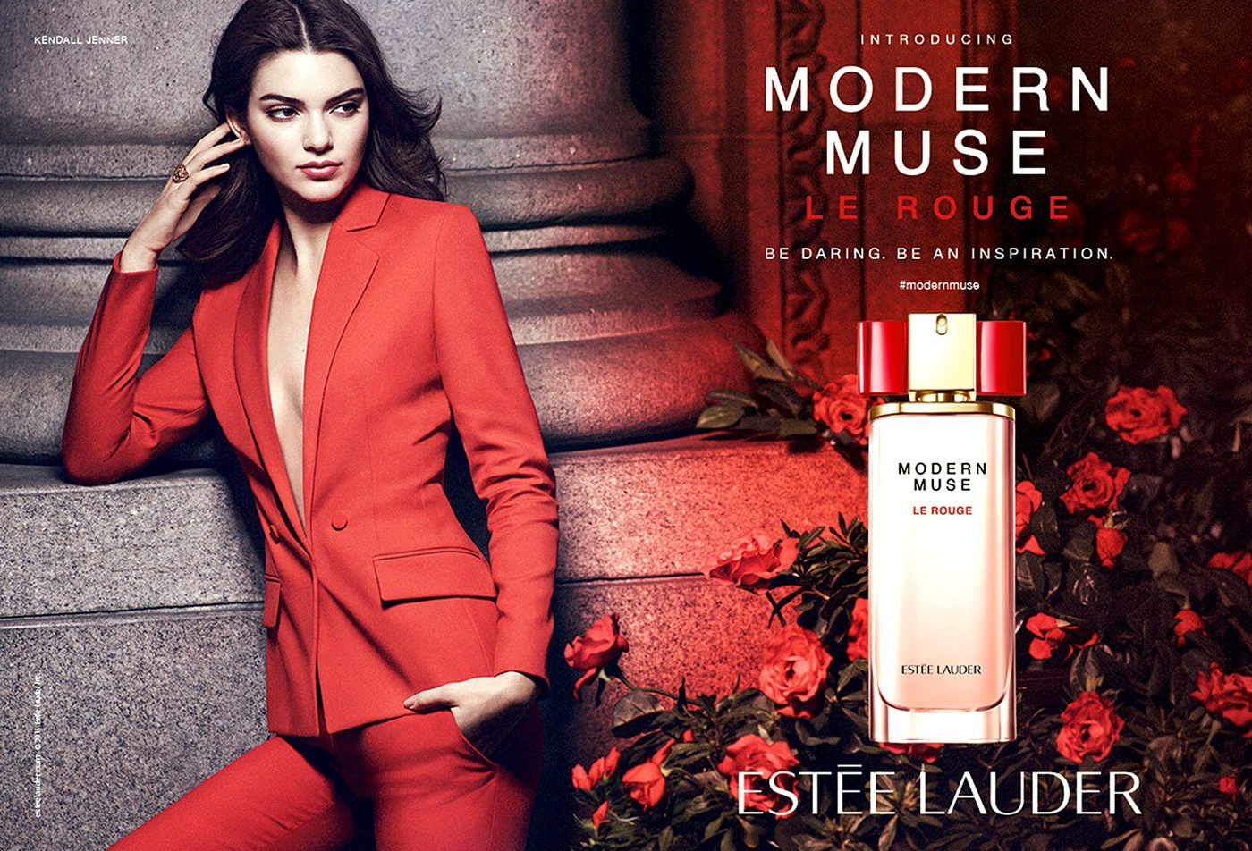 Kendall Jenner Stars in Mode Muse Le Rouge Campaign