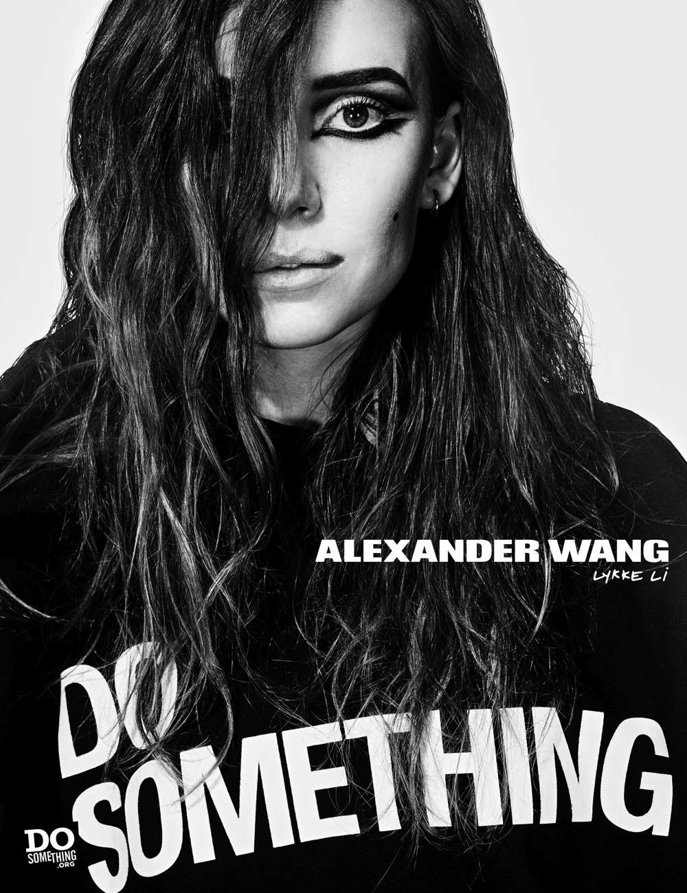 Lykke Li wears Alexander Wang x DoSomething
