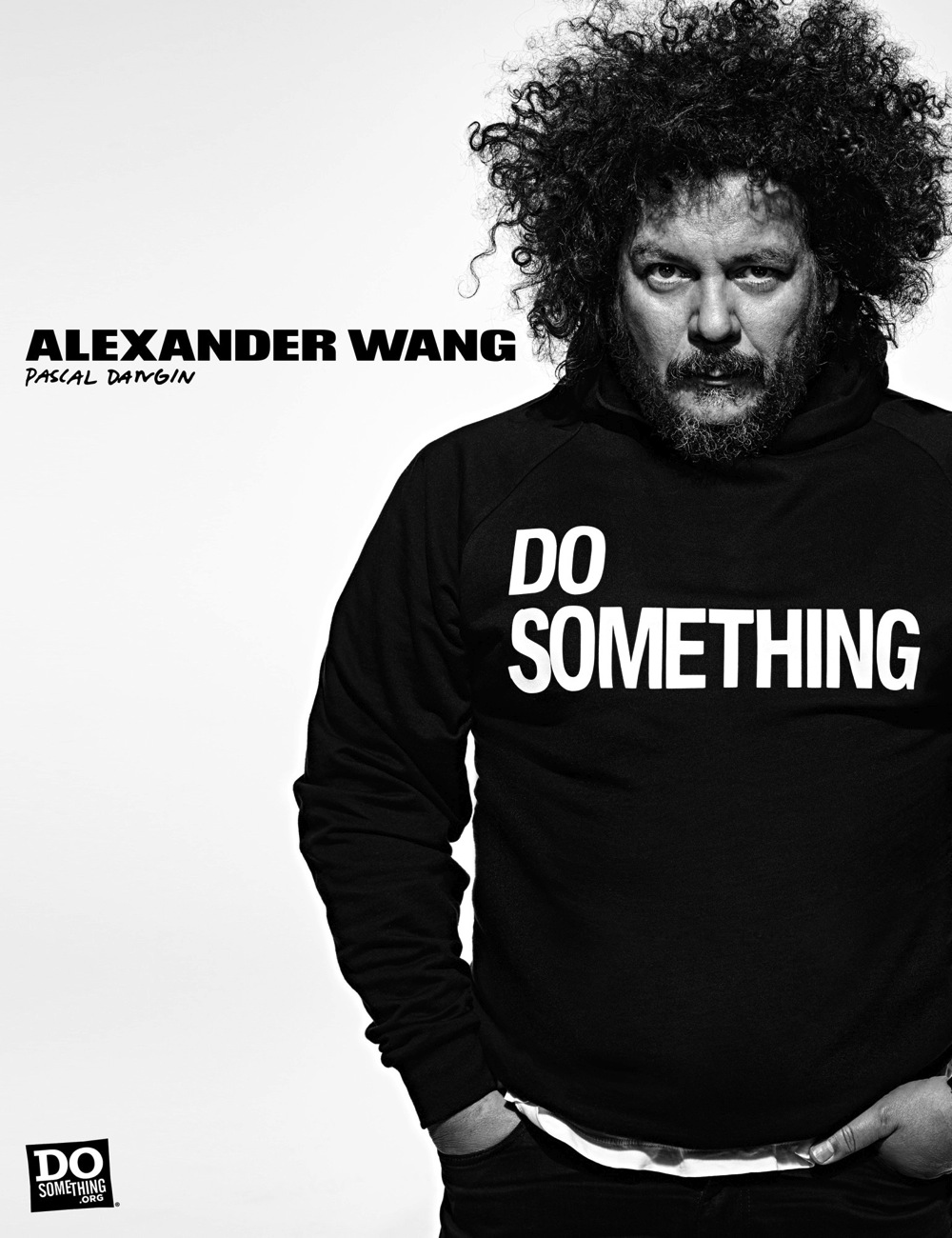 Pascal Dangin wears Alexander Wang x DoSomething
