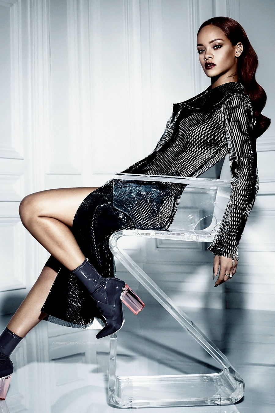 Rihanna Graces the Cover of Dior Magazine 10