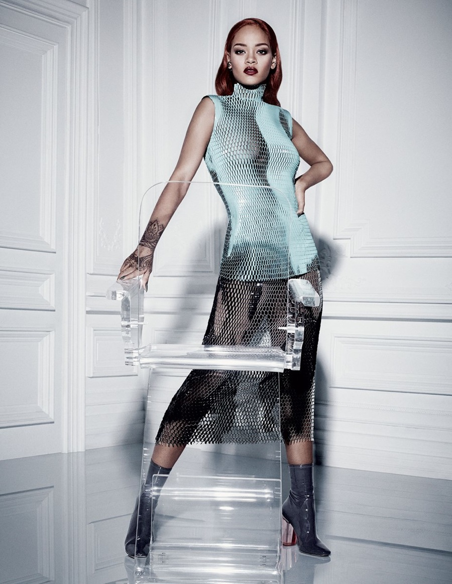 Rihanna Graces the Cover of Dior Magazine 5