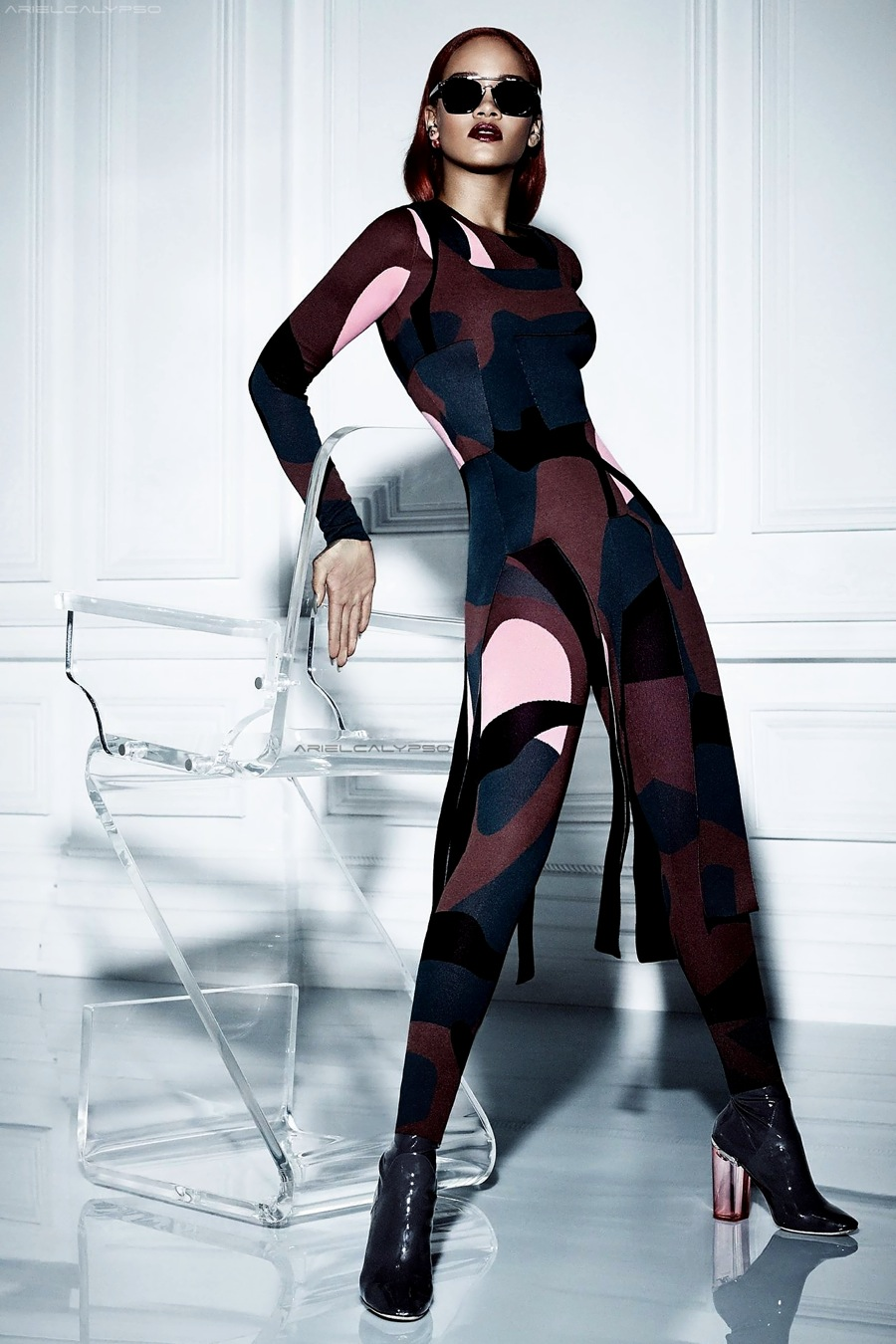 Rihanna Graces the Cover of Dior Magazine 6